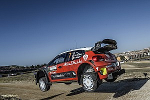 WRC Breaking news Citroen disappointed by Meeke's Italy crash