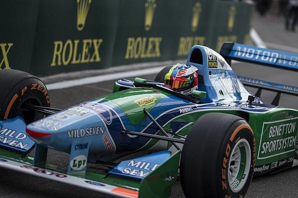 F1 VIDEO: así se vió la vuelta de Mick en el Benetton B194 de Michael Schumacher