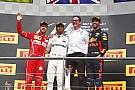 GP Belgia: Hamilton juara usai redam gempuran Vettel