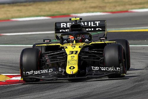 VIDEO: El accidente de Ocon por evitar a Magnussen