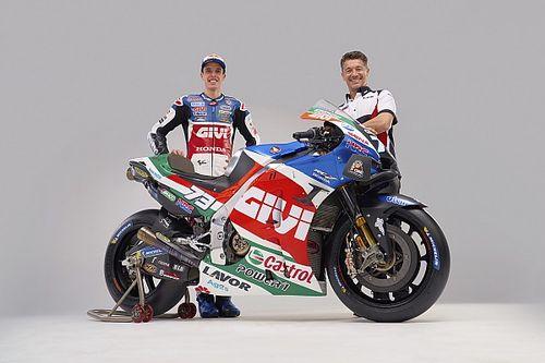 LCR unwraps Alex Marquez's 2021 MotoGP bike