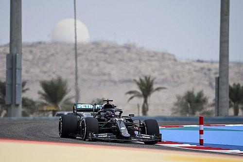 Hamilton trapt F1-weekend in Bahrein af met snelste tijd