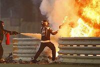 Ils ont secouru Grosjean : Roberts et Van der Merwe racontent