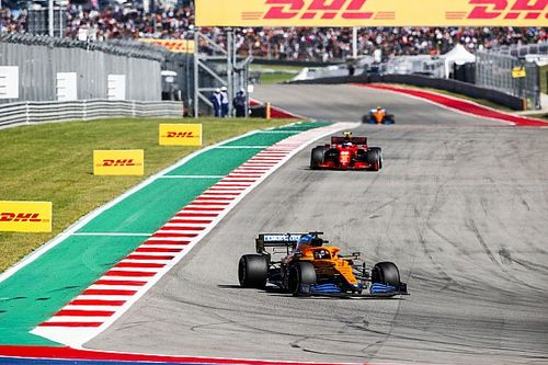 McLaren se quita el sombrero con la maniobra de Sainz