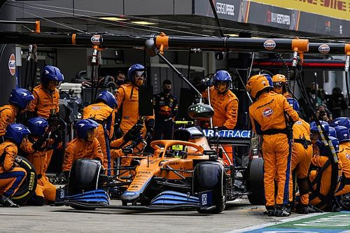 Norris gets F1 reprimand for pitlane entry incident in Sochi