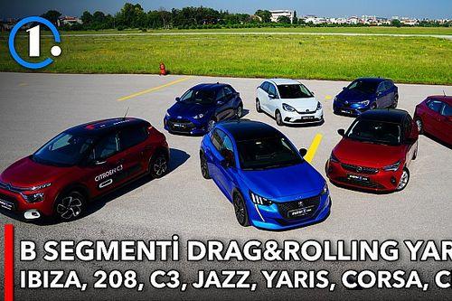 DRAG | 7 B segmenti hatchback karşı karşıya!