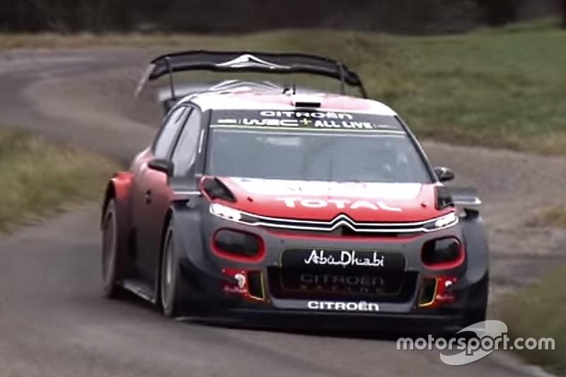 Citroen: Ogier e Lappi hanno provato una nuova aerodinamica nei test per il Rally di Monte-Carlo!