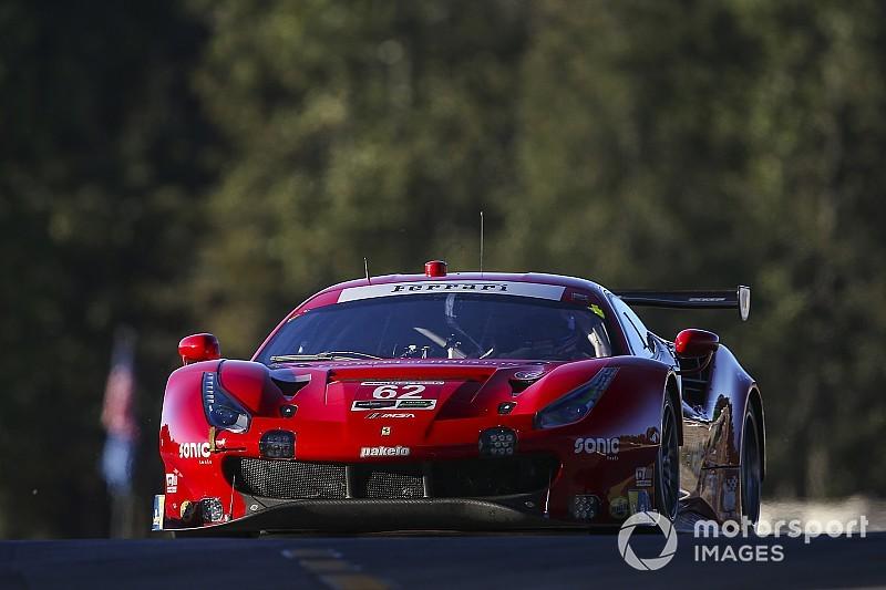 Il team Risi alla 24 Ore di Daytona con 4 piloti ufficiali Ferrari, tra cui Pier Guidi e Rigon