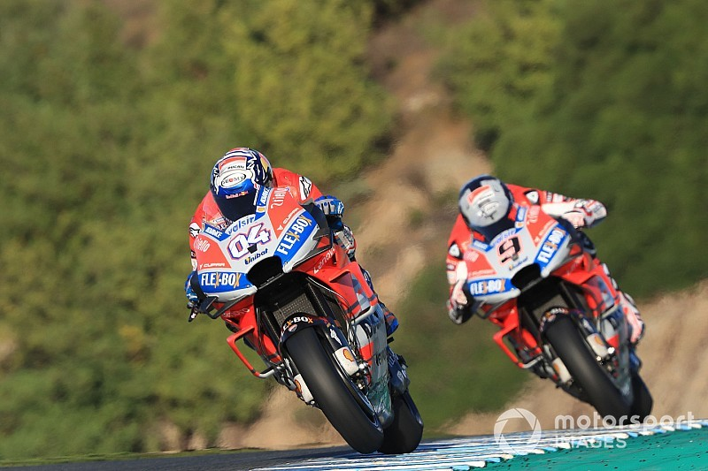 """Petrucci wants to avoid becoming Dovizioso's """"enemy"""""""