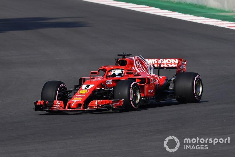 """Vettel: """"Niet topsnelheid maar banden worden sleutel"""""""