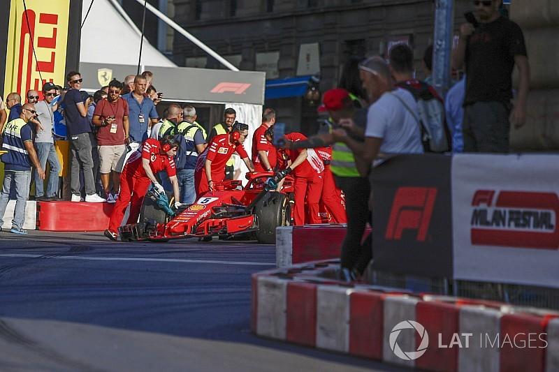 Vettel: Setir Raikkonen penyebab kecelakaan di Milan