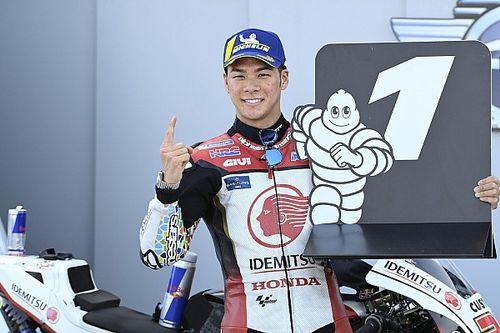 中上貴晶、キャリア初PP獲得! 最高峰クラス日本人PPは16年ぶり|MotoGPテルエルGP予選