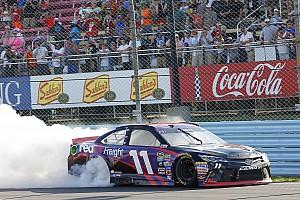 NASCAR Cup Race report Hamlin survives carnage to win at Watkins Glen