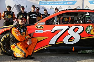 NASCAR Cup Interview Truex would like to stay with Furniture Row