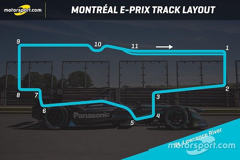 C'è la bozza della pista cittadina dell'ePrix di Montréal