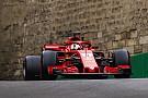 Vettel dice que el Ferrari va bien en Bakú, pero él no
