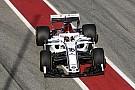 Formula 1 Alfa Romeo Sauber C37'nin pist üstü görüntüleri yayınlandı