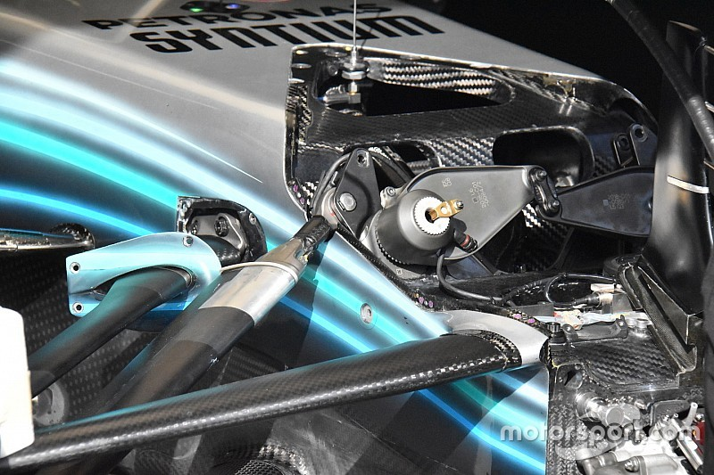 Mercedes: perché si cambiano le sospensioni anteriori sulle due W09?