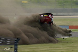 """DTM Breaking news Unhurt Rast realised crash """"looked bad from the outside"""""""