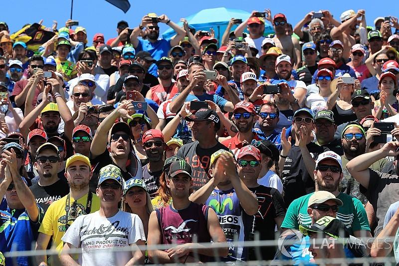 GALERI: Aksi sesi kualifikasi MotoGP Spanyol