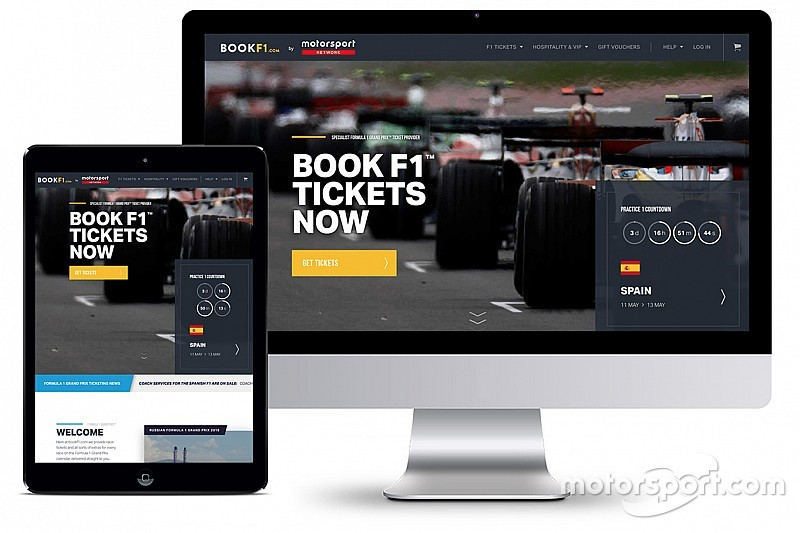 Motorsport Network enters global ticketing market with acquisition of BookF1.com