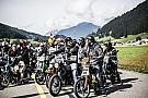 Bike Mille motocyclistes au start de la Red Bull Alpenbrevet 2017