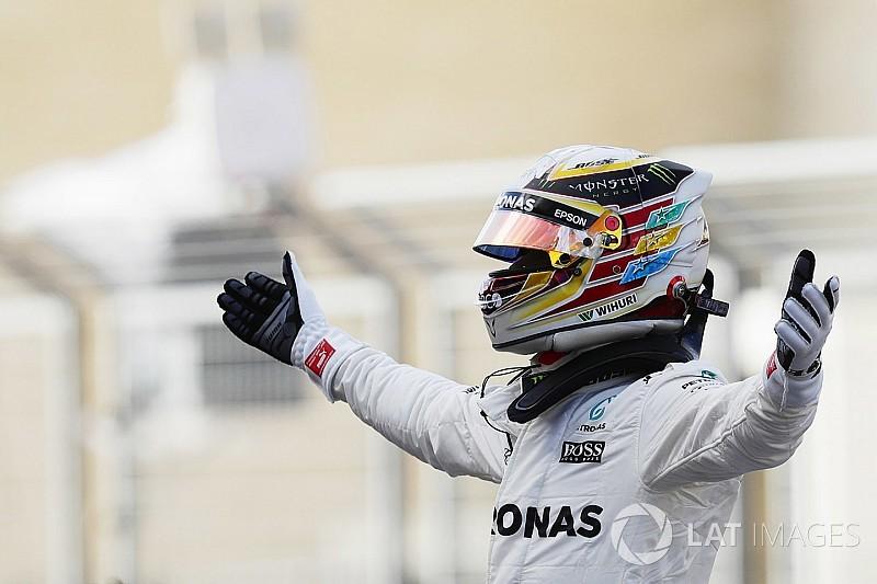 Lewis Hamilton ist Formel-1-Weltmeister 2017 für Mercedes