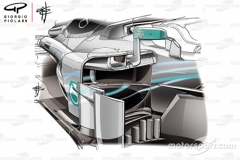 FIA: Mercedes'in aynaları kurallara uygun