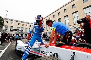 Formule E Réactions Rosenqvist affligé par l'abandon après