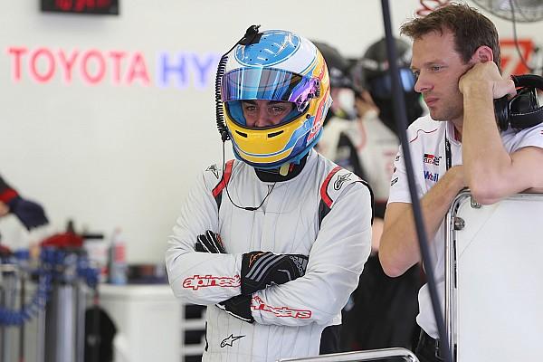WEC Alonso completó más de 110 vueltas en el