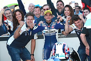 Moto3 Reporte de la carrera Martín logra su primera victoria en el Mundial