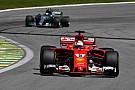 """Vettel: """"Hamilton vormde nooit echt een bedreiging"""""""