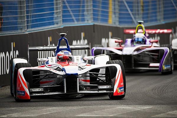 "Formula E Rosenqvist mystified over failure that ruined ""perfect day"""