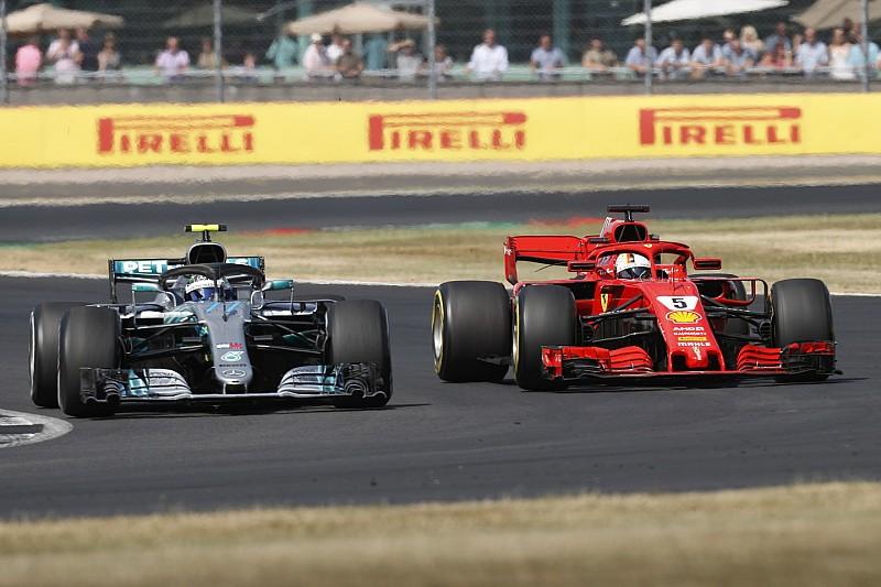 Положение в чемпионате после Гран При Великобритании
