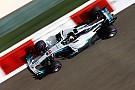 Hamilton lideró un 1-2 de Mercedes antes de la clasificación
