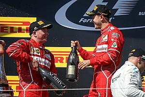 Raikkonen y Vettel, muy cerca de renovar con Ferrari
