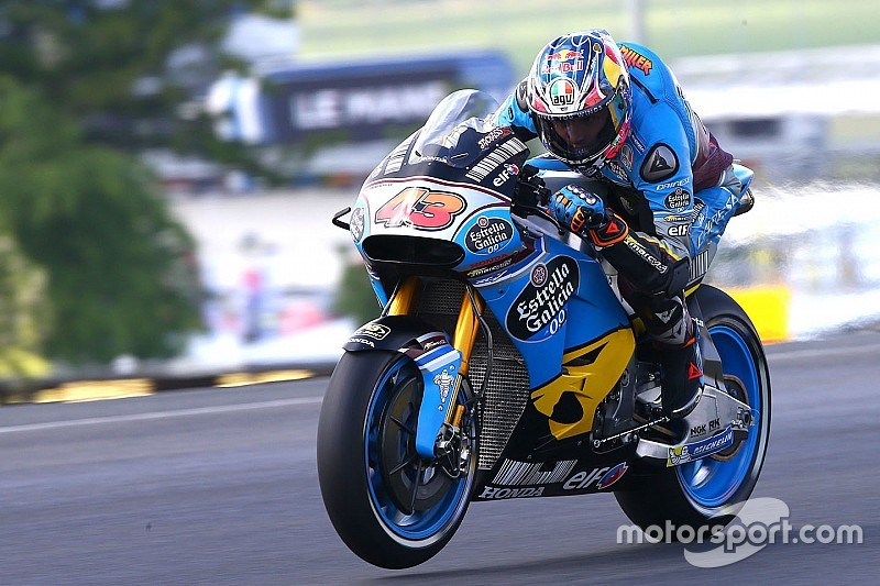 Le Mans MotoGP: Miller leads Marquez in damp FP1