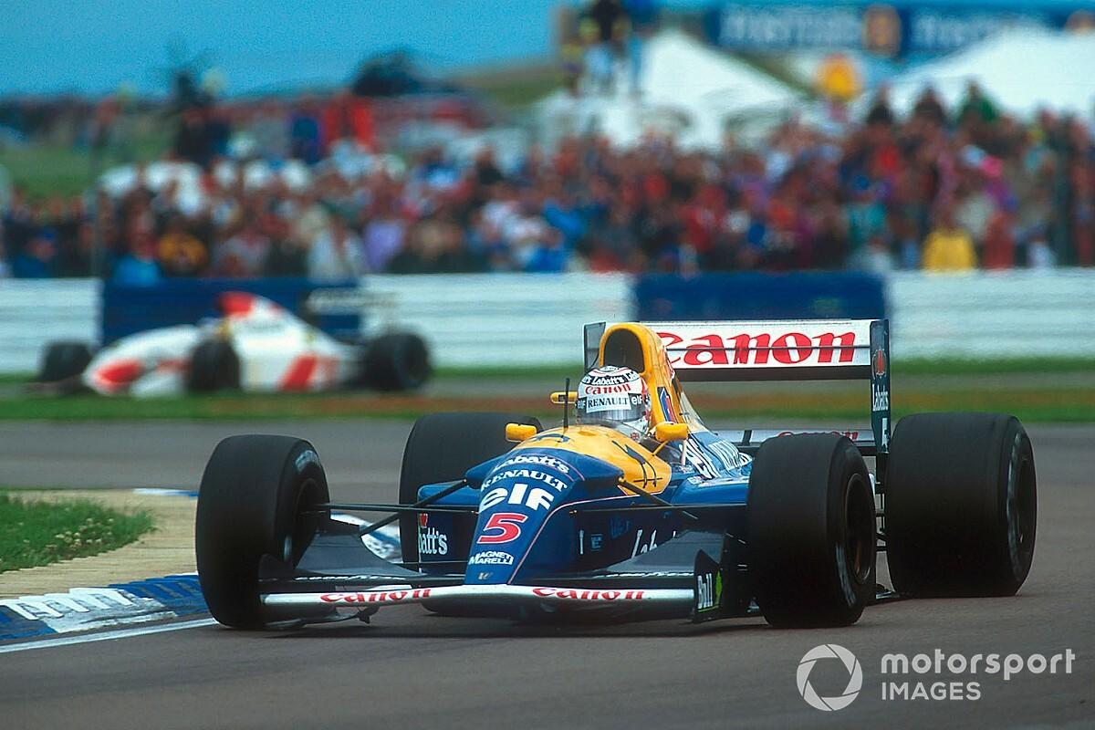 Legendarische Williams FW14B van Mansell onder de hamer