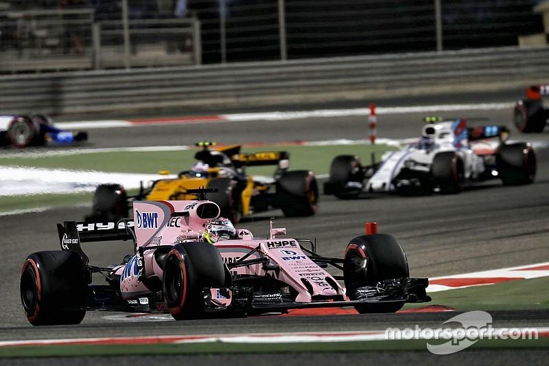 Переса удивили результаты Force India в начале сезона