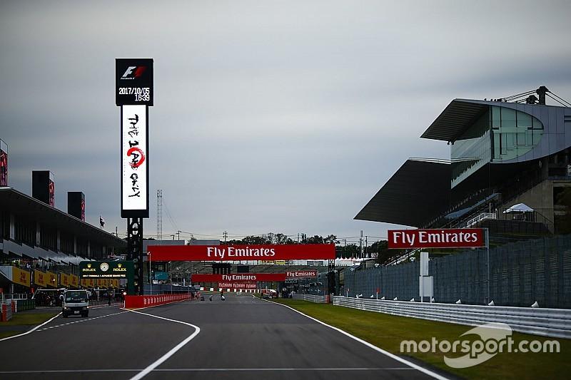 Los horarios para el GP de Japón