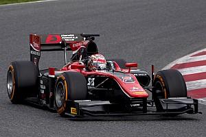 FIA F2 Test raporu McLaren destekli Matsushita F2 testinin ilk gününü zirvede tamamladı