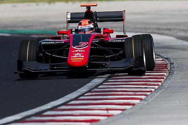 Russell lidera el primer día de test de la GP3 en Hungría