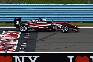 USF2000 Qualifying report Watkins Glen USF2000: Askew edges title rival VeeKay for pole