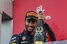 """Formule 1 """"Red Bull kan op eigen kracht winnen in Amerika"""", denkt Ricciardo"""