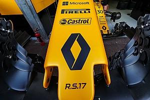 Formule 1 Actualités Renault Sport F1 a démarré la R.S.18