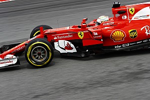 Formula 1 Practice report Malaysian GP: Vettel on top as Grosjean crash ends FP2 early