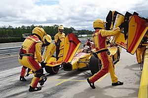 IndyCar BRÉKING IndyCar: itt ilyen a forma-1-es tempó a bokszban