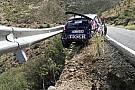 ERC Видео: рельс безопасности спас экипаж ERC от падения в обрыв