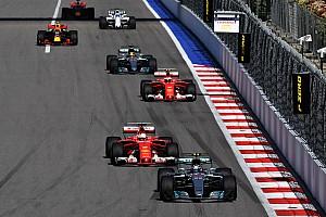 تراجع أعداد التجاوزات في الفورمولا واحد إلى قرابة النصف في 2017