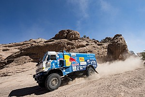 Dakar Stage report Dakar 2017, Stage 11: Nikolaev closes on second trucks victory